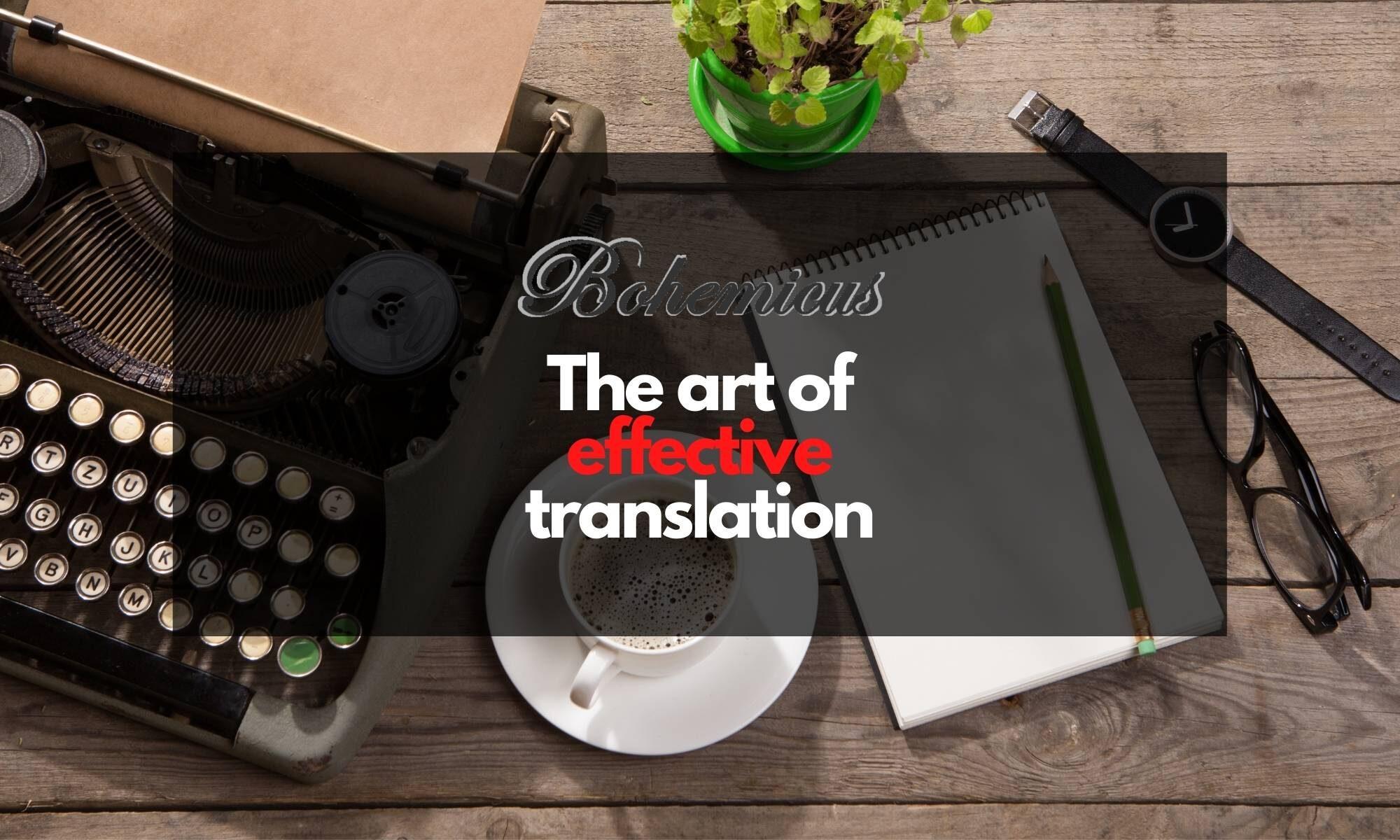 Software for effective translators